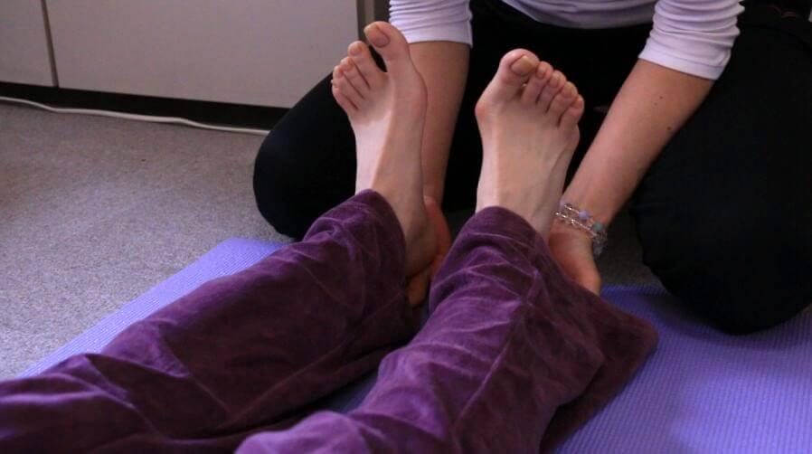 バレエの脚、足のメンテナンス、治療、バレエ治療院あんじゅ