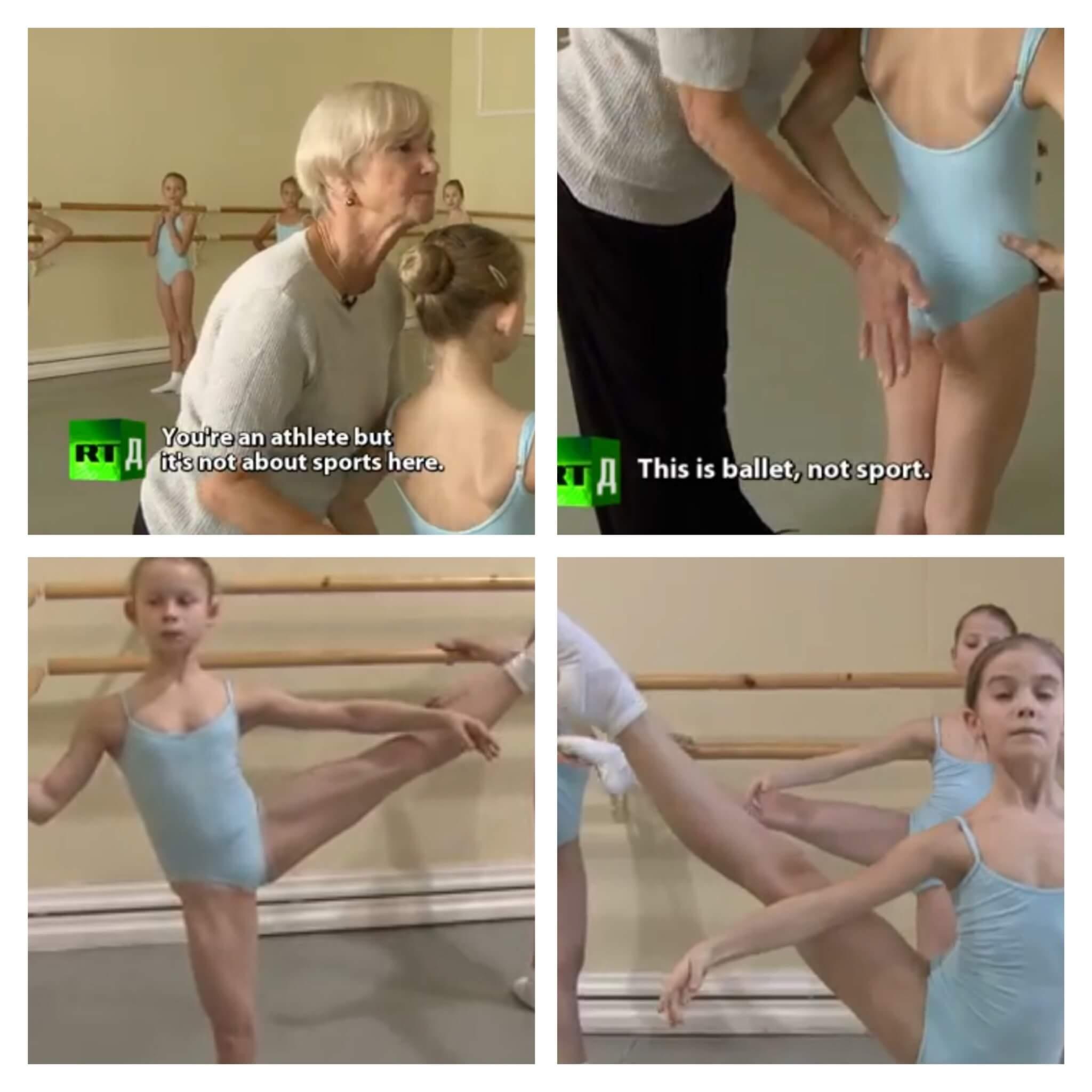バレエの姿勢づくり、バレエ治療院あんじゅ