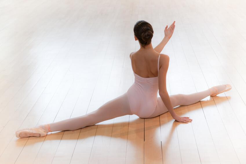 バレエ・ダンスの開脚改善、ターンアウトアップ