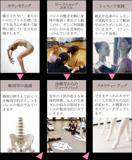 バレエの解剖学講座、バレエアナトミー