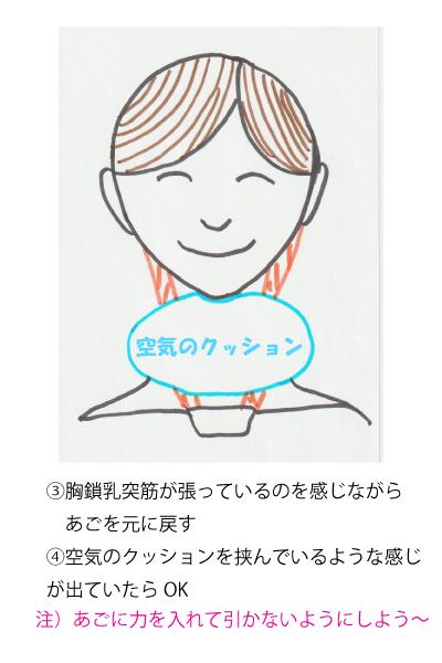 マスク生活で下を向きがちな姿勢を直す バレエ治療院あんじゅ