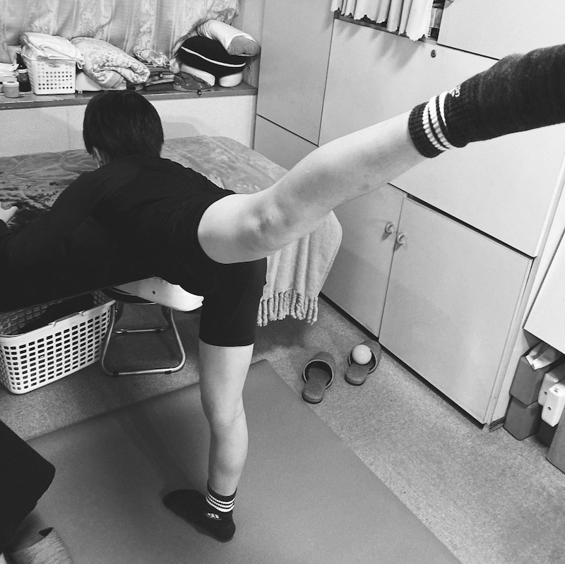 フィギュアスケートのための開脚改善、バレエ治療院あんじゅ